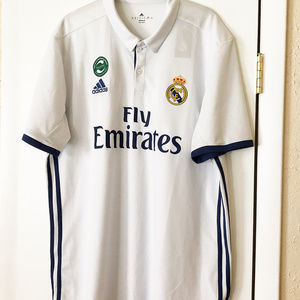 Adidas mens new size XL Fly Emirates jersey white